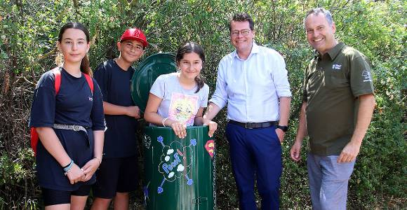 Für weniger Müll: Mist-Maxis erobern den Wienerberg